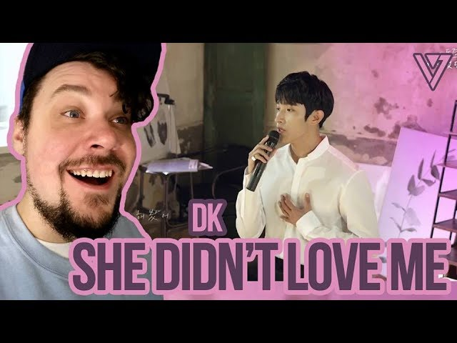 Mikey Reacts to SEVENTEEN - DK - 사랑했던걸까 (She Didn't Love Me) Cover - Lyric Video