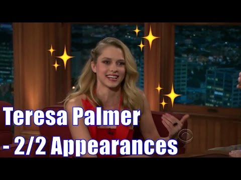 Teresa Palmer  Has 3 Kangaroos: Radar, Tiby & Charlie  22 Appearances In Chron. Order HD