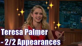 Teresa Palmer - Has 3 Kangaroos: Radar, Tiby & Charlie - 2/2 Appearances In Chron. Order [HD]