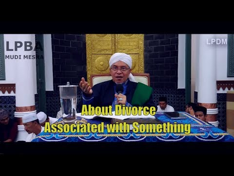 About Divorce Associated With Something   Abu MUDI