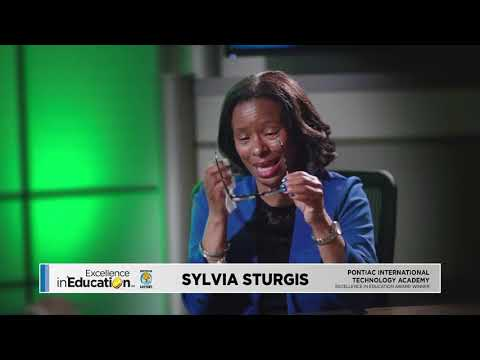 Excellence in Education 5/15/18: Sylvia Sturgis