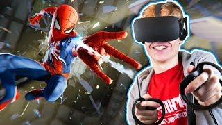BECOME SPIDER-MAN IN VIRTUAL REALITY! | Marvel United Powers VR (Oculus Rift + Touch Gameplay)