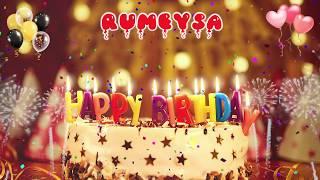 RÜMEYSA Happy Birthday Song – Happy Birthday Rümeysa – Happy birthday to you