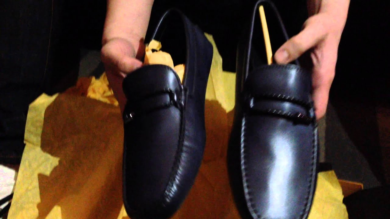 Tod S Blue Driving Shoes