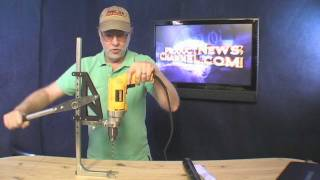 Portable Drill Press Strong Arm 5 Product News Channel Tool Review Gadget