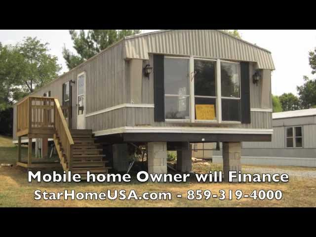 Campbellsville, KY mobile home owner finance trailer for