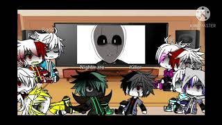 GlitchTale React to Sans,Gaster And Papyrus  vs Bete Noire