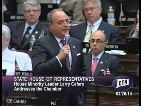 House GOP Leader Larry Cafero Announces Retirement