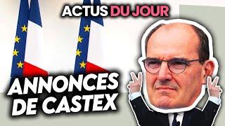 Réouverture des terrasses, écoles, annonces de Castex, Thomas Pesquet décolle... Actus du Jour