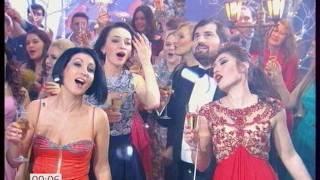 """Участники проекта """"Голос"""" - Королева танца. Новогодняя ночь 2017 на Первом (01-01-2017)"""
