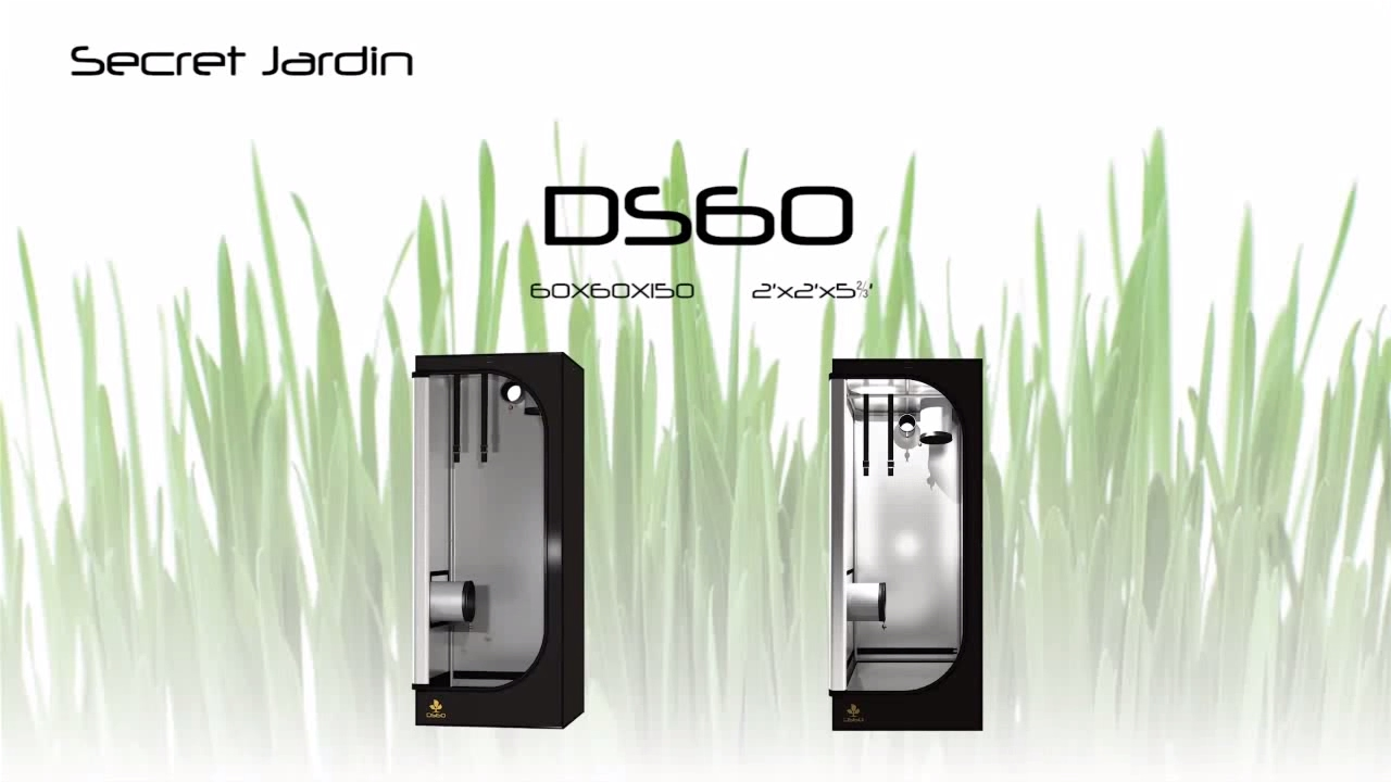 How to set up Secret Jardin small grow tent DS60 | Product Tutorial  sc 1 st  YouTube & How to set up Secret Jardin small grow tent DS60 | Product ...