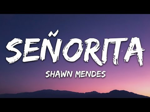 Senorita Lyrics Video Youtube