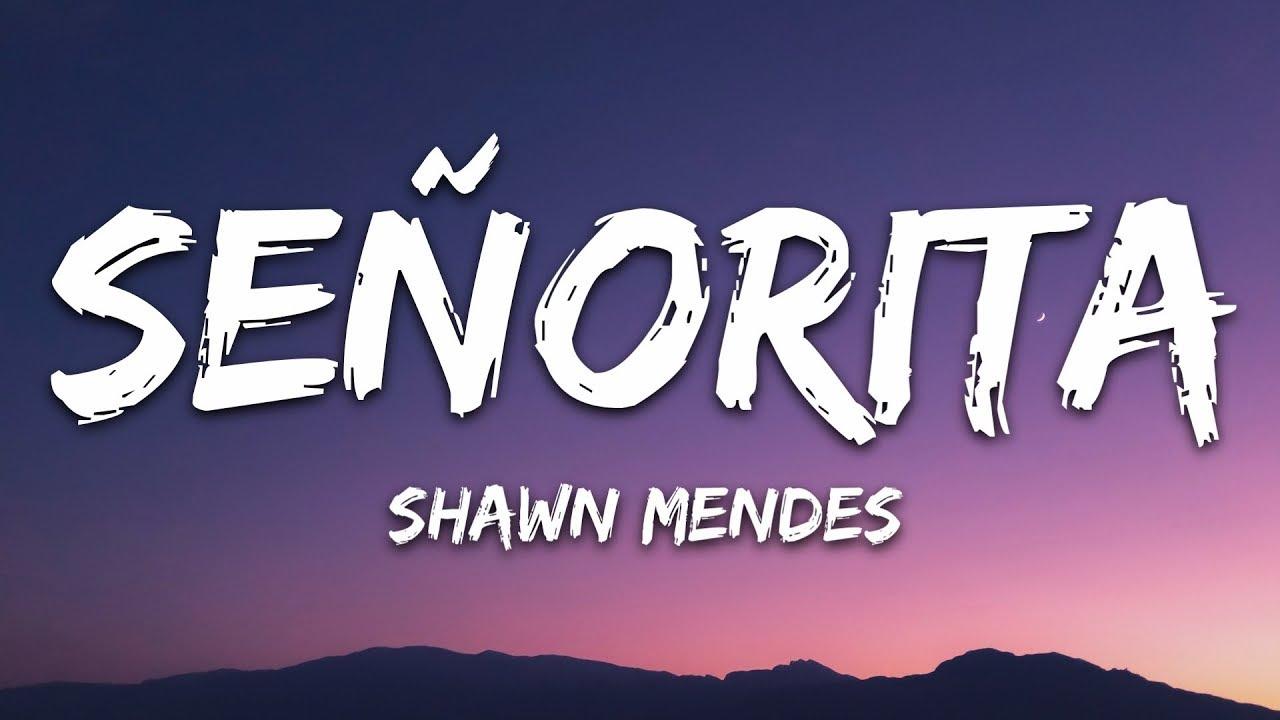 Shawn Mendes Camila Cabello Señorita Lyrics Letra