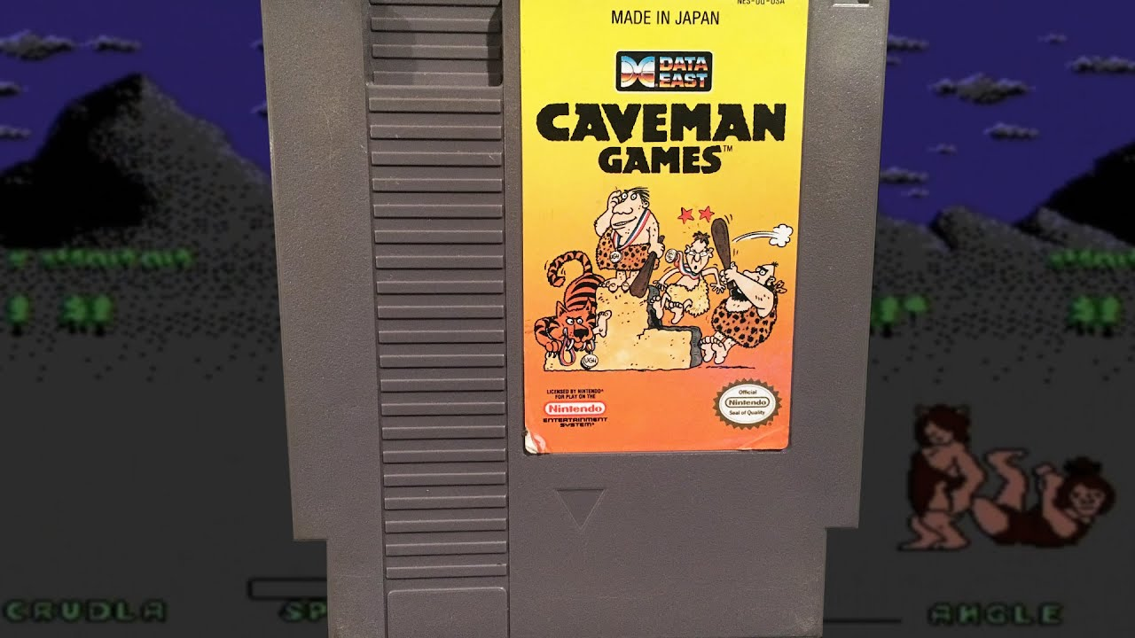 Caveman Questions : Caveman games nes mike & bootsy youtube