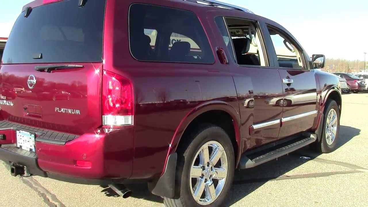 Lovely 2011 Nissan Armada 4WD Platinum 4I130014   YouTube