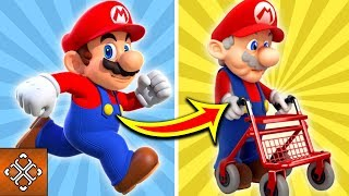 What If Nintendo Characters Got Older?