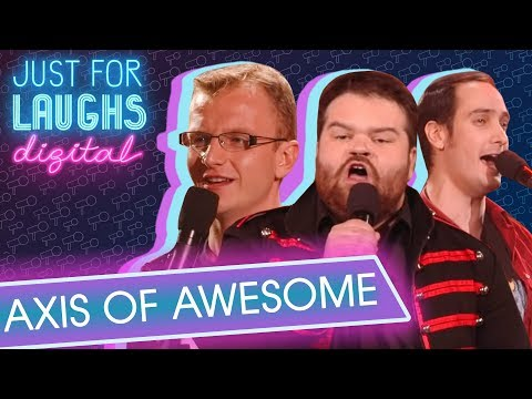 Axis Of Awesome - All Popular Songs Are The Same 4 Chords