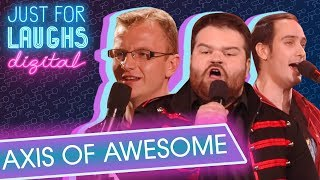 Axis of Awesome - All Popular Songs Are The Same 4 Chords YouTube Videos