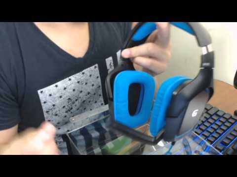 Unboxing / Review | Headset Logitech G430 | Español | HD