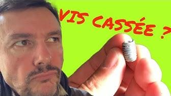COMMENT EXTRAIRE UNE VIS CASSEE, UTILISER UNE QUEUE DE COCHON TOURNE A GAUCHE (DIY) #lfgdf