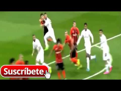 Sergio Ramos se tira un clavado muy actuado - Real madrid vs Shakhtar Donetsk