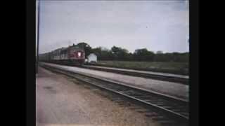 Rock Island train at Volland
