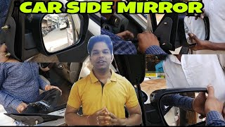 || Car Side Mirror Installation || Folding Mirror ||
