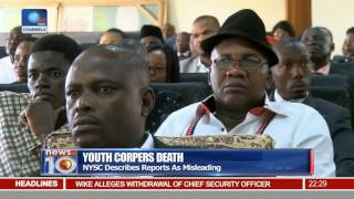 NYSC DG Blames Kidney Infection For Kano Corper's Death