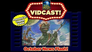 Charles Band 39 s October Vidcast 2018