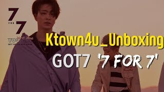 [Ktown4u Unboxing] GOT7 7th Mini Album [7 for 7]