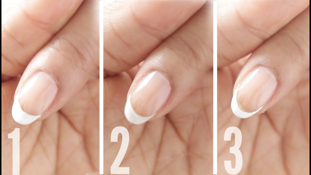 BSCS | FRENCH GEL MANICURE FOR BEGINNERS, 3 WAYS!! - YouTube