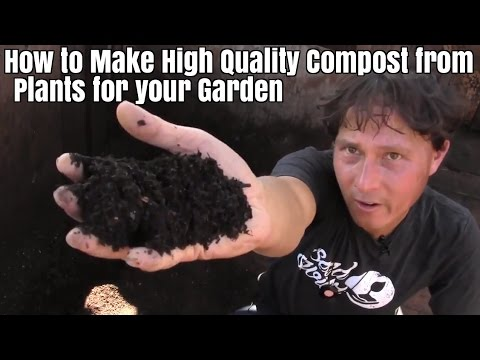 How to Make High Quality Compost from Plants for Your Organi