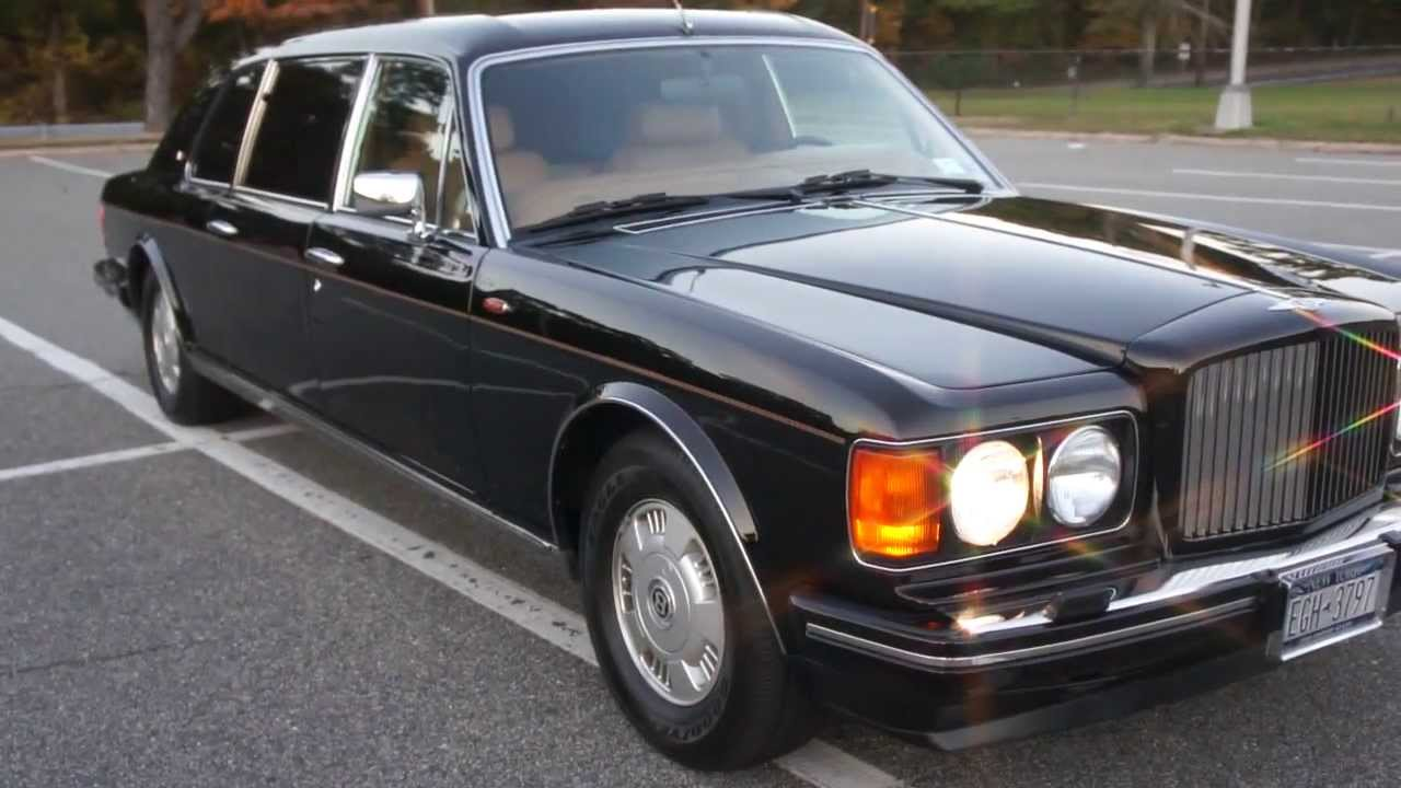 ~SOLD ~ 1994 Bentley Silver Spur III Touring Limousine For ...