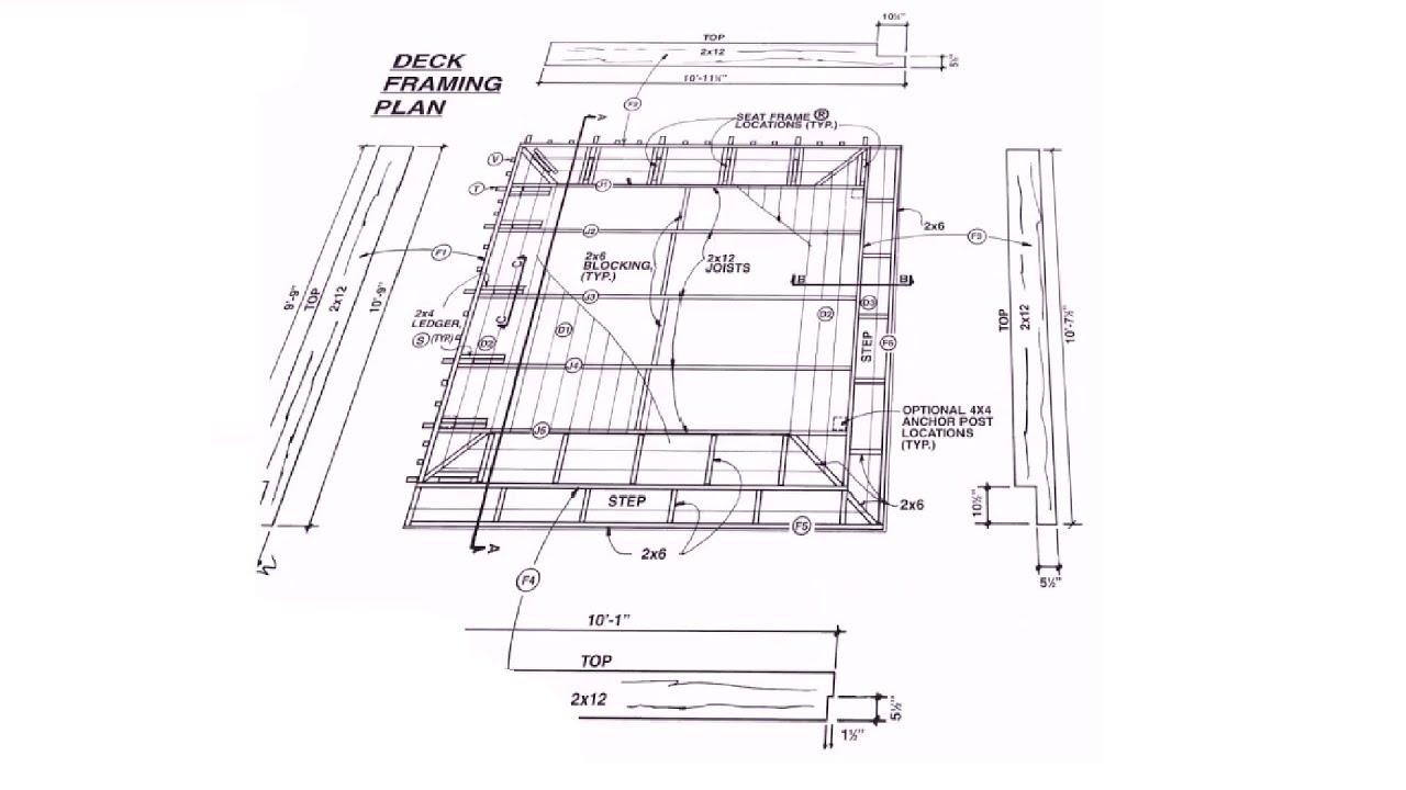 How To Build A Deck  Download Diy Deck Plans  Expertpublications