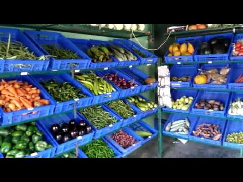 Nice vegetable shop in Bangalore