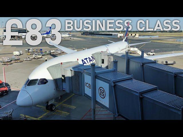 £83 BUSINESS CLASS | TripReport | LATAM Boeing 787-9 | Frankfurt to Madrid
