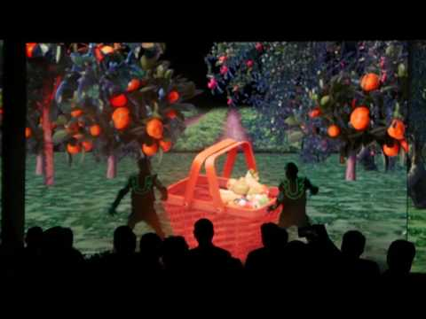 Animatronics LED Interactive Tron Dance for Bosch Refrigerator in Mumbai