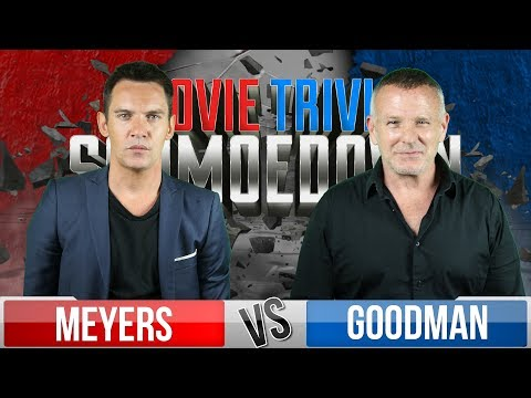 Jonathan Rhys Meyers VS Brian Goodman  Movie Trivia Schmoedown