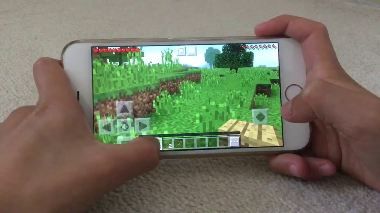 how to create crafting table in minecraft pe