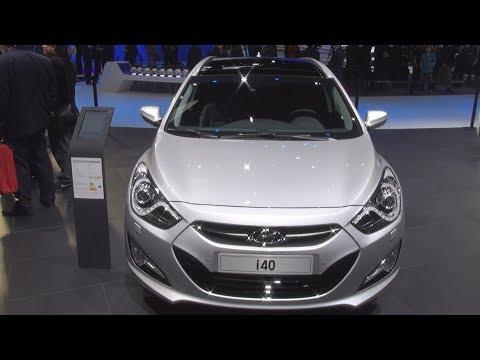 Hyundai i40 CRDi 16V Exterior and Interior