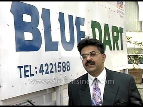 Blue Dart rep speaks on the growth of Indian courier industry