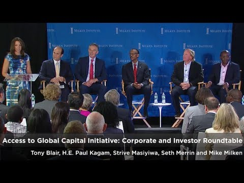 Access to Global Capital Initiative: Corporate and Investor Roundtable