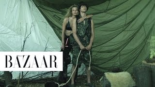 Carine Roitfeld Goes Into the Wild