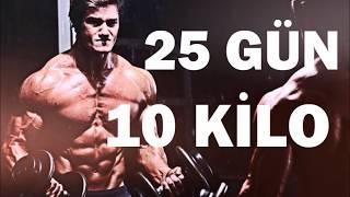 25 Günde 10 Kilo Al! Hızlı Kilo Almak ve Kas Yapmak İçin Vücut Geliştirme Beslenme Programı Video