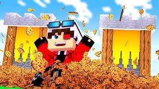 БОМЖИ ДЕРУТСЯ ЗА ПЕЧЕНЬЯ В МАЙНКРАФТЕ! БИТВА ПЕЧЕННЫХ БАШЕН! Minecraft