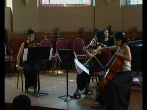 Piano Quartet in G minor (Rondo) By Brahms