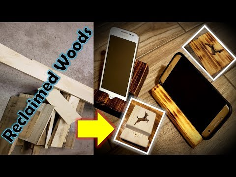 Phone Holder - DIY Up-cycle Cell Phone Stand | How to make a phone holder easy steps