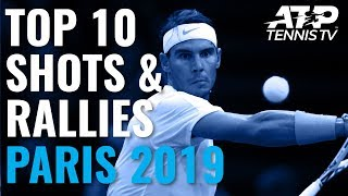 Tweeners Galore in Top 10 Best Shots & Rallies | Paris 2019