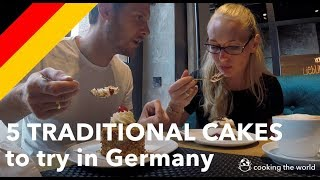 5 traditional German cakes to eat in Germany / Cake Food Tour in Frankfurt Germany