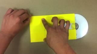 Hacer un sobre para CD - Papiroflexia fácil